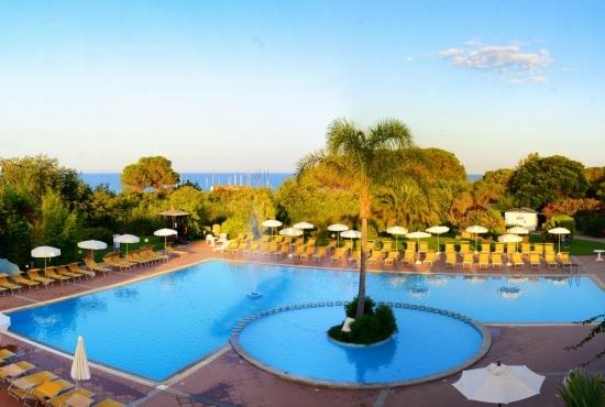 Panoramica della piscina
