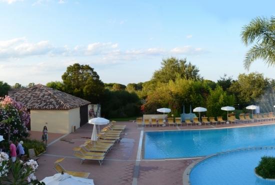 Area relax e piscina