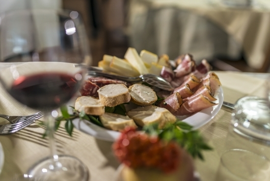 Sardinian typical appetizers