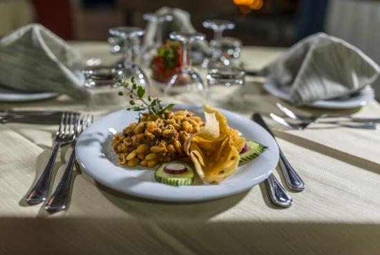 Dish of Sardinian gnocchi