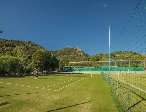 Campo da Tennis del Resort Perdepera