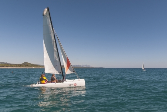 Gita in barca a vela nell'Ogliastra