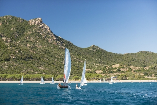 Sailboats at the Perdepera Resort