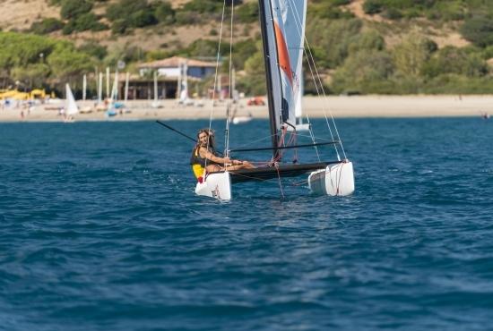 Gita in barca a vela con istruttore