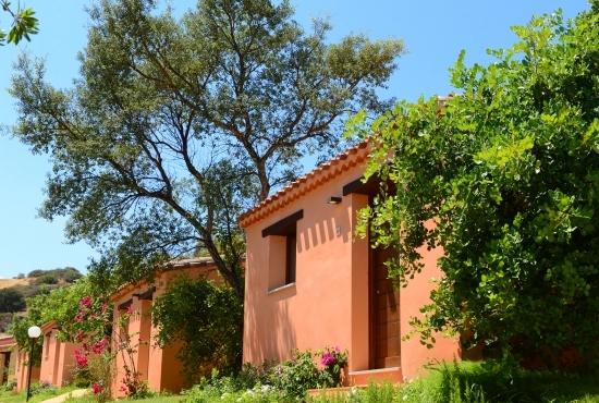 Camere nel giardino mediterraneo