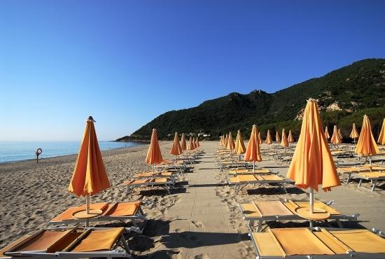 Dettaglio della spiaggia