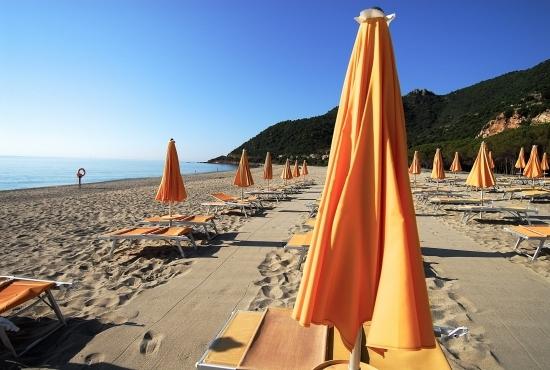 Stabilimento balneare per gli ospiti del Resort
