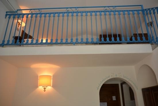 Detail of the mezzanine