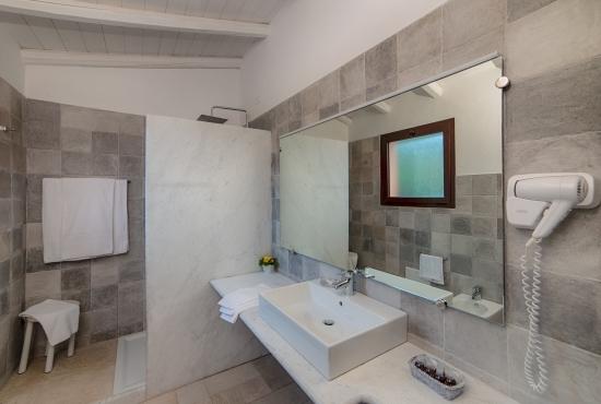 Panoramica del bagno