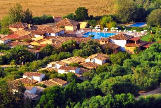 Panorama del resort
