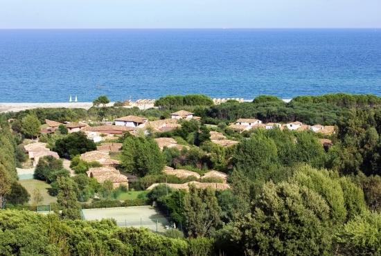 Resort immerso nella natura della Sardegna