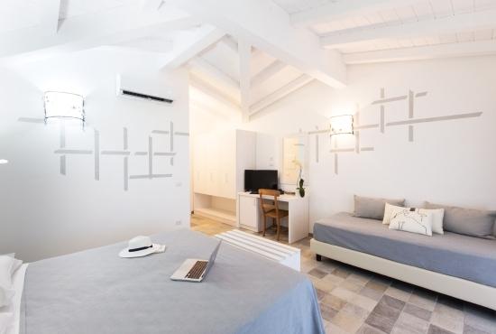 Panoramica della camera da letto